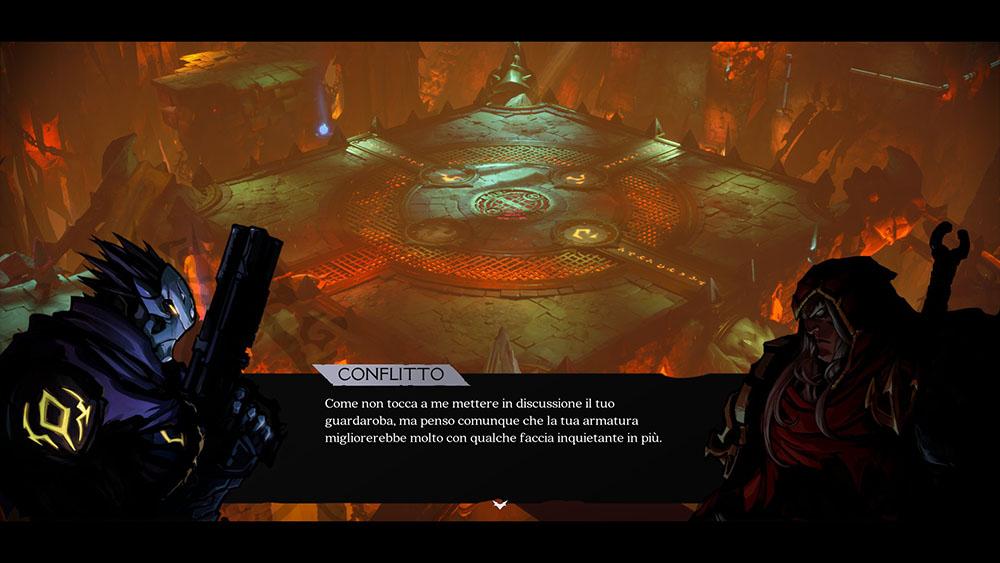 darksiders genesis dialoghi