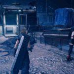Final Fantasy 7 Remake cimitero treni
