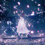 Final Fantasy 7 Remake aeris cherry blossoms