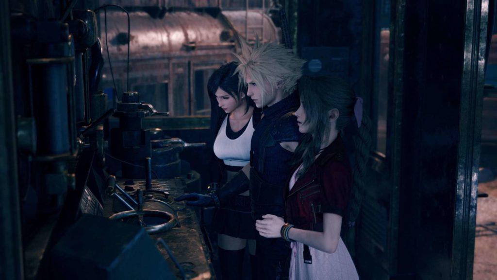 Final Fantasy 7 Remake aeris cloud tifa