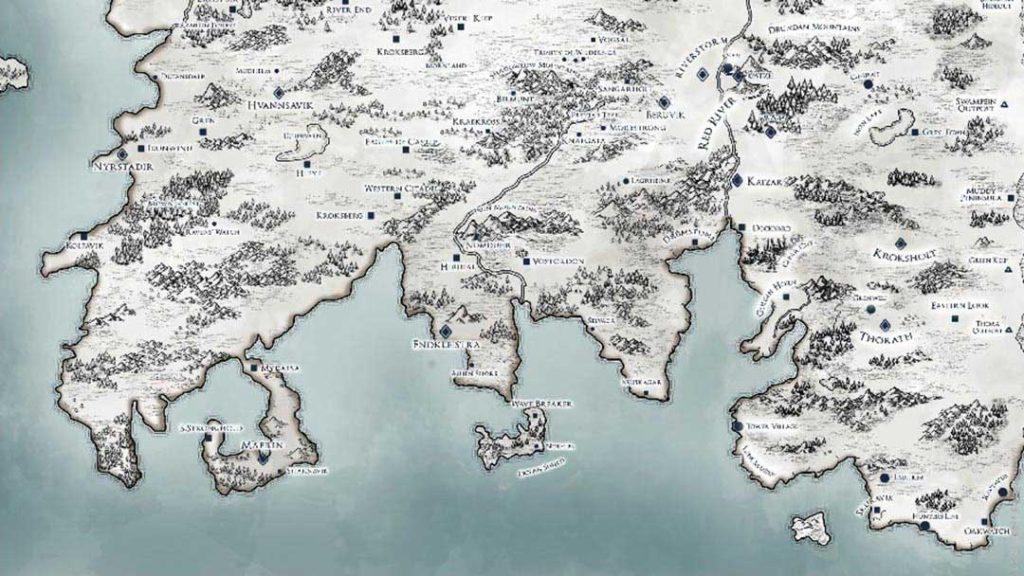 La mappa complessiva delle terre di Svilland