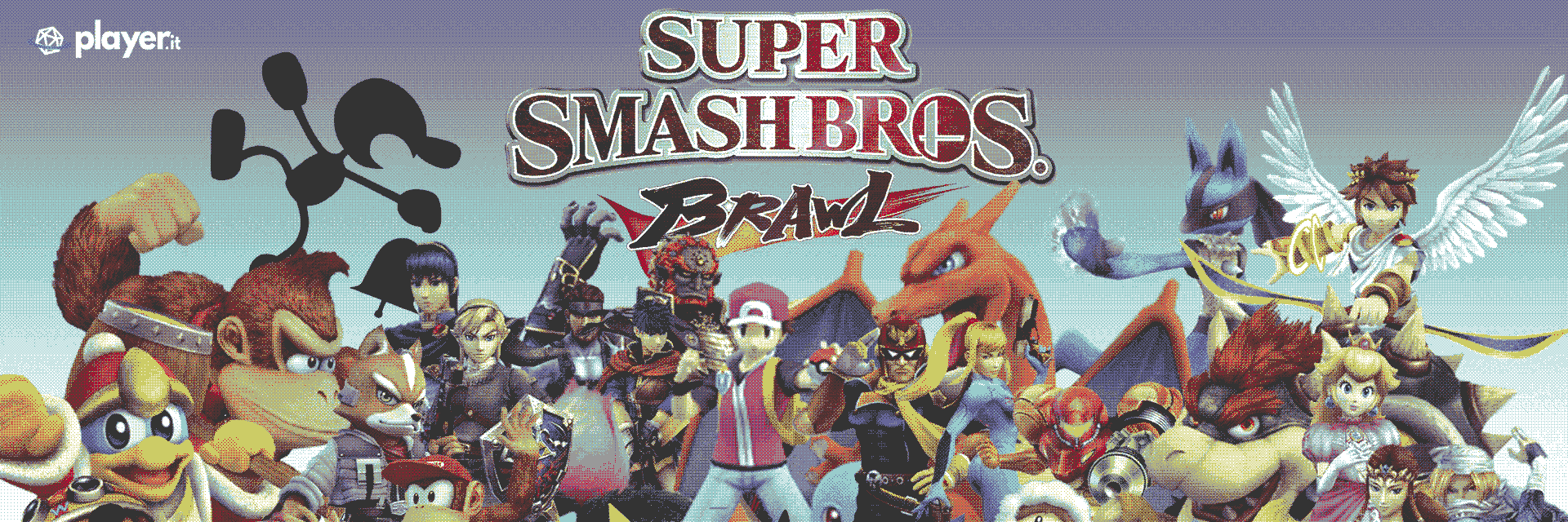 Super Smash Bros. Brawl artwork wallpaper scheda gioco
