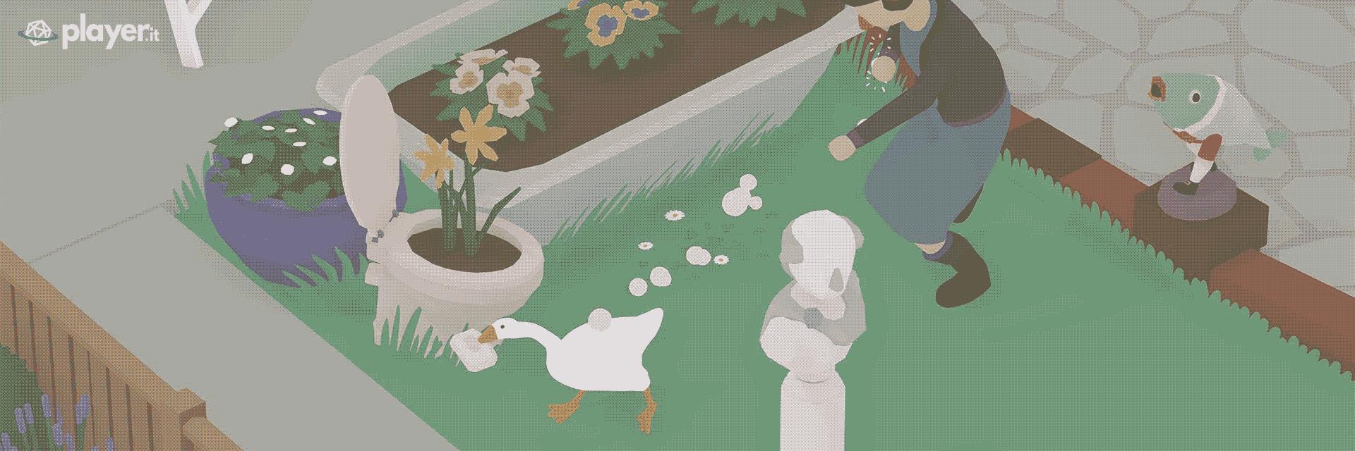 Untitled Goose Game wallpaper e scheda gioco