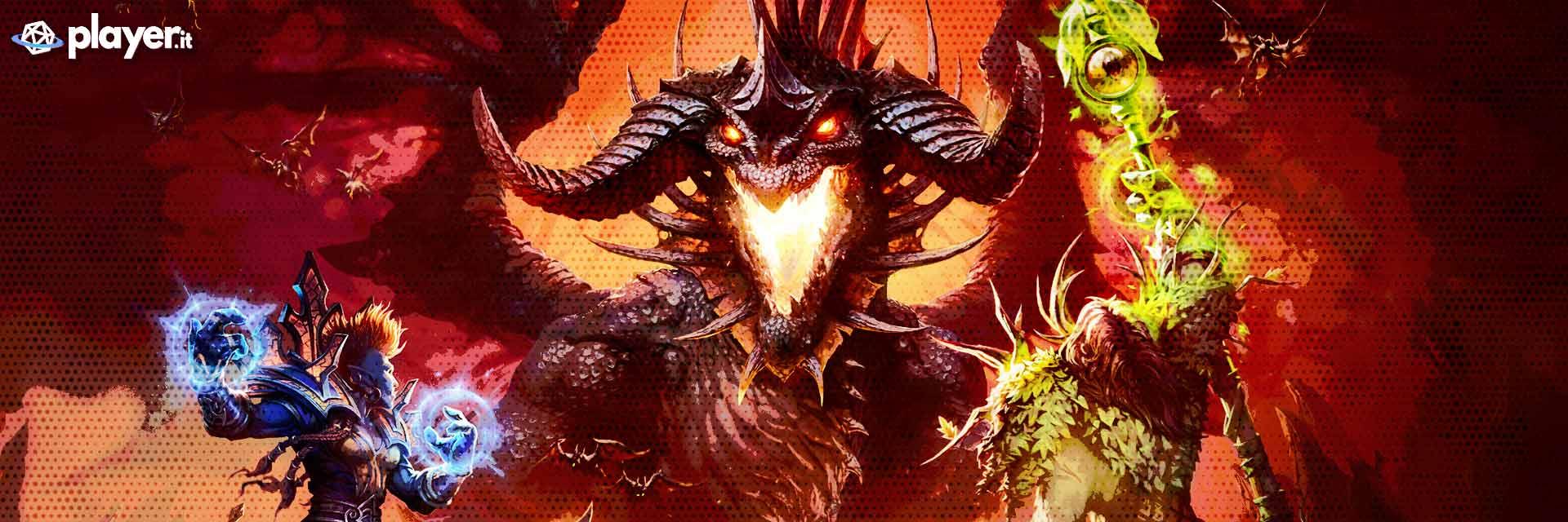 la copertina di world of warcraft