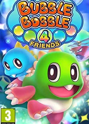 locandina del gioco Bubble Bobble 4 Friends