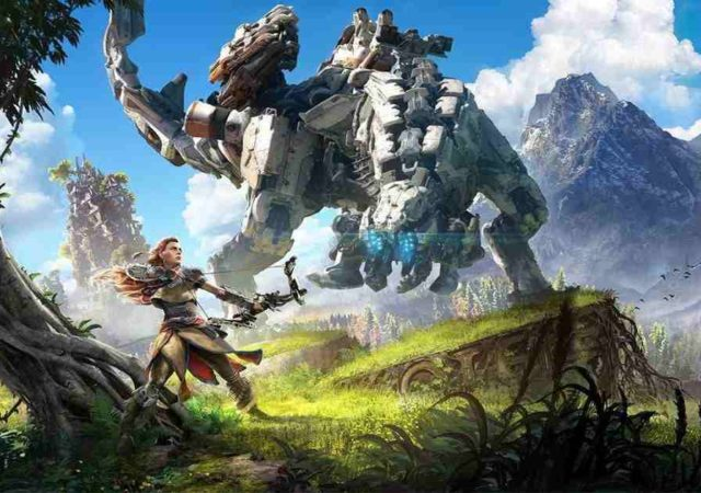 horizon zero dawn in arrivo su pc
