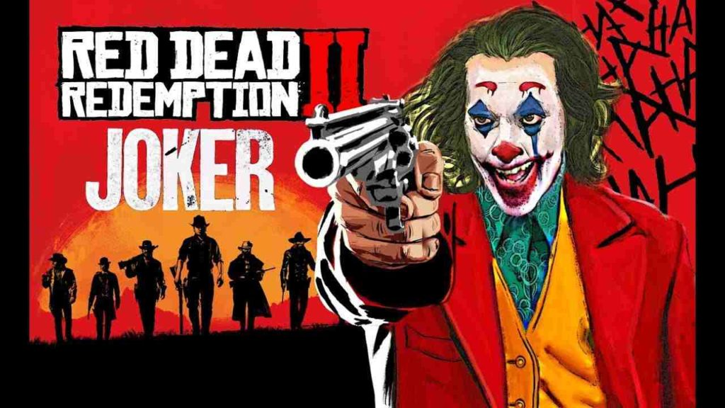 come giocare nei panni di joker in red dead redemption 2