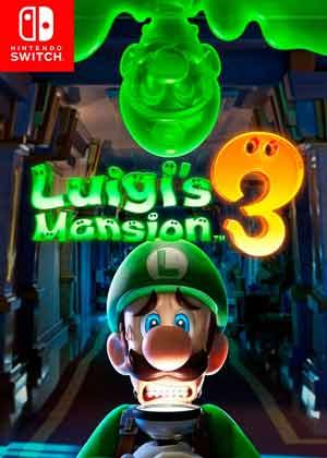 luigi s mansion 3 copertina gioco