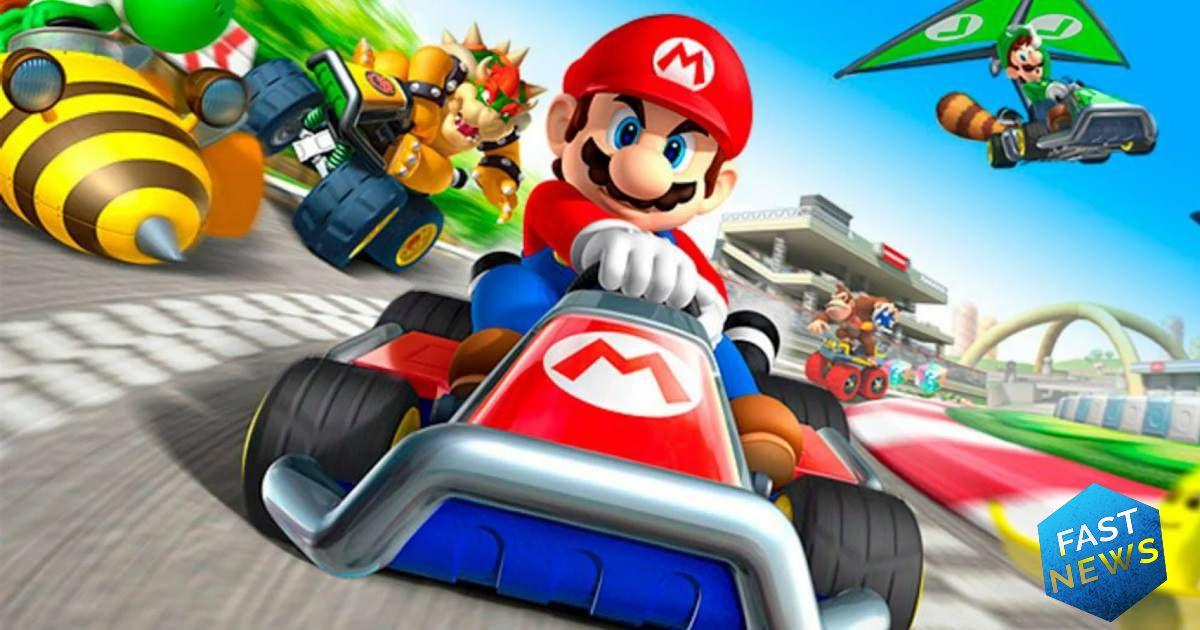 inizia la beta del multiplayer di mario kart tour