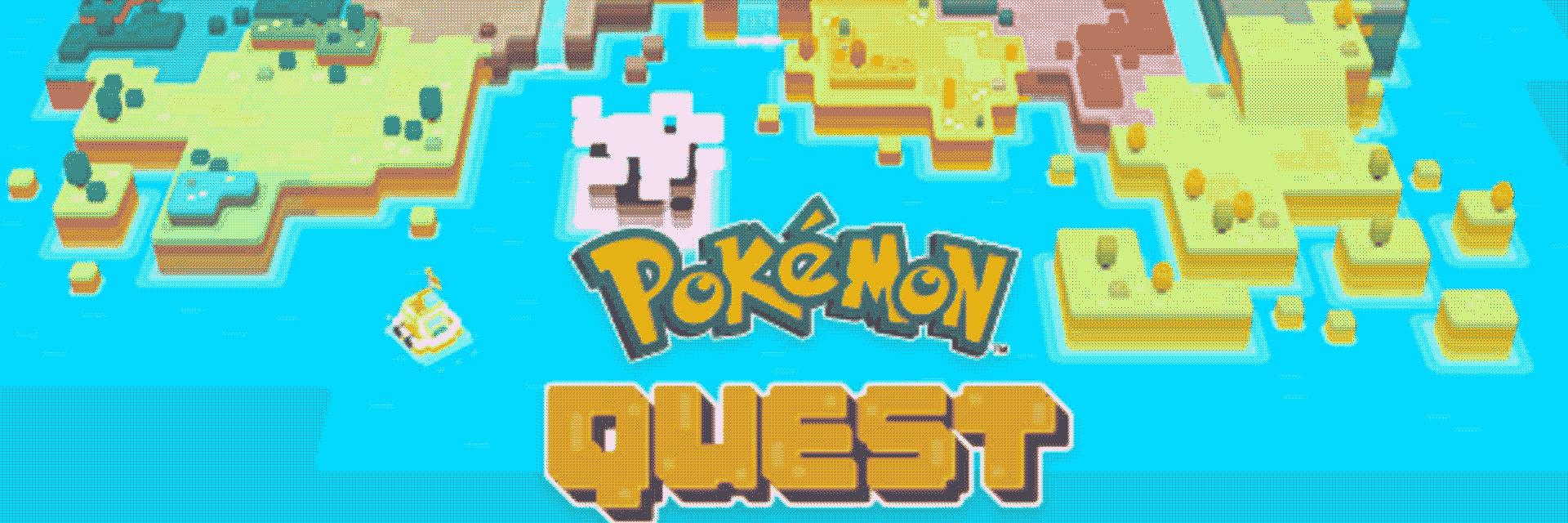 la copertina di pokémon quest