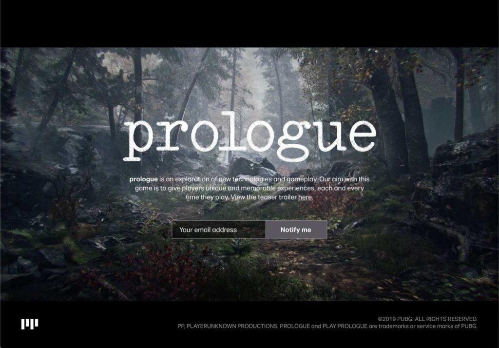 the game awards 2019 prologue