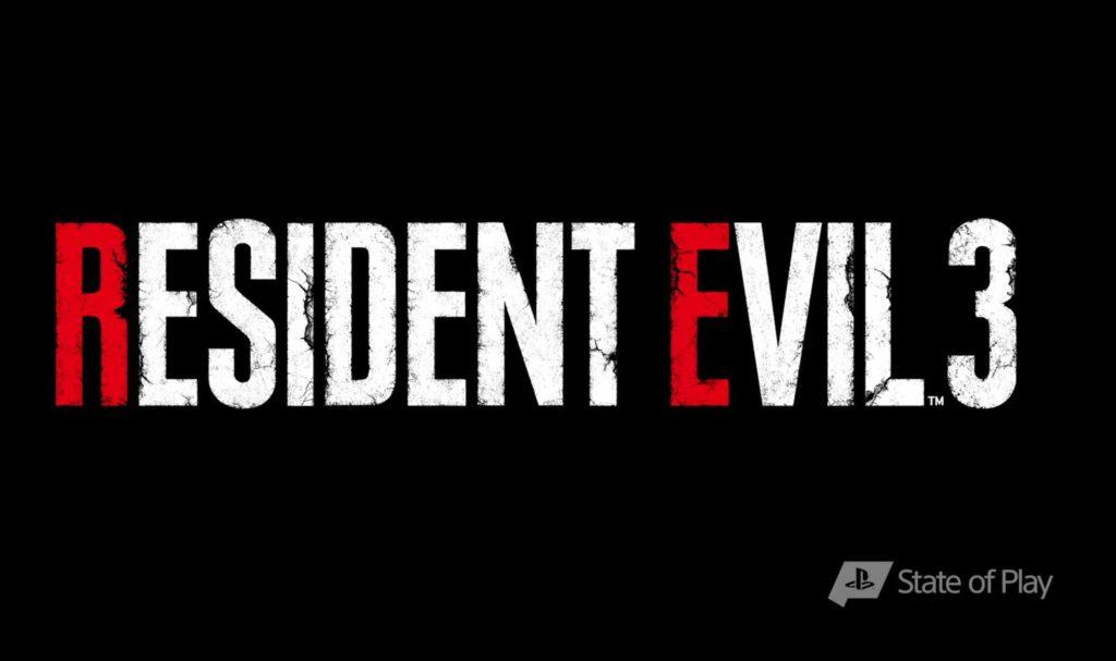 resident evil 3 remake logo