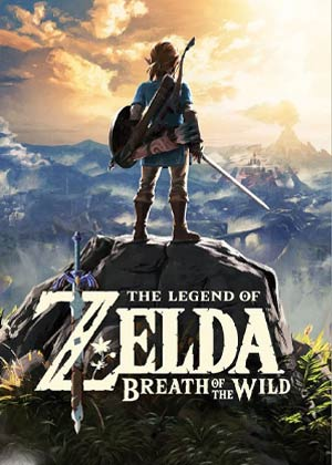 the legend of zelda breath of the wild copertina gioco