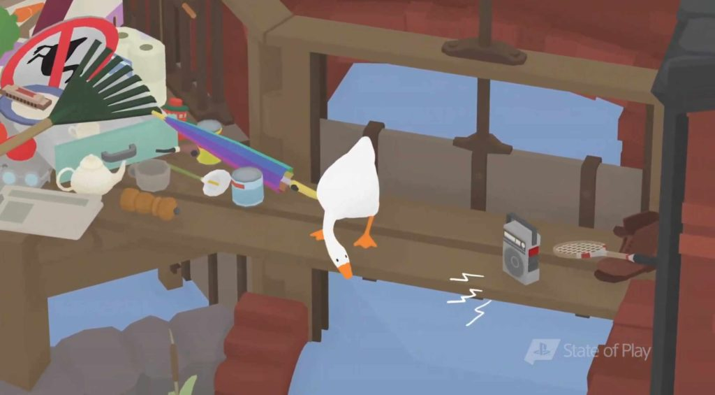 untitled goose game gameplay