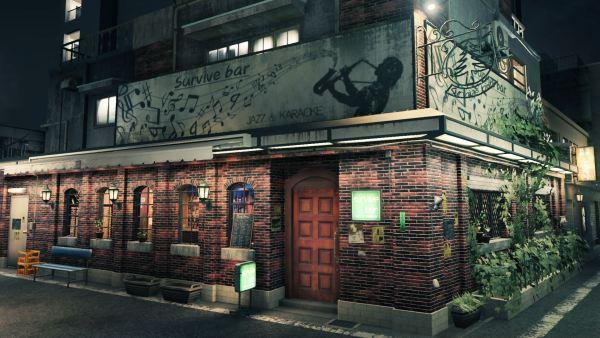 L'entrata del Survive Bar