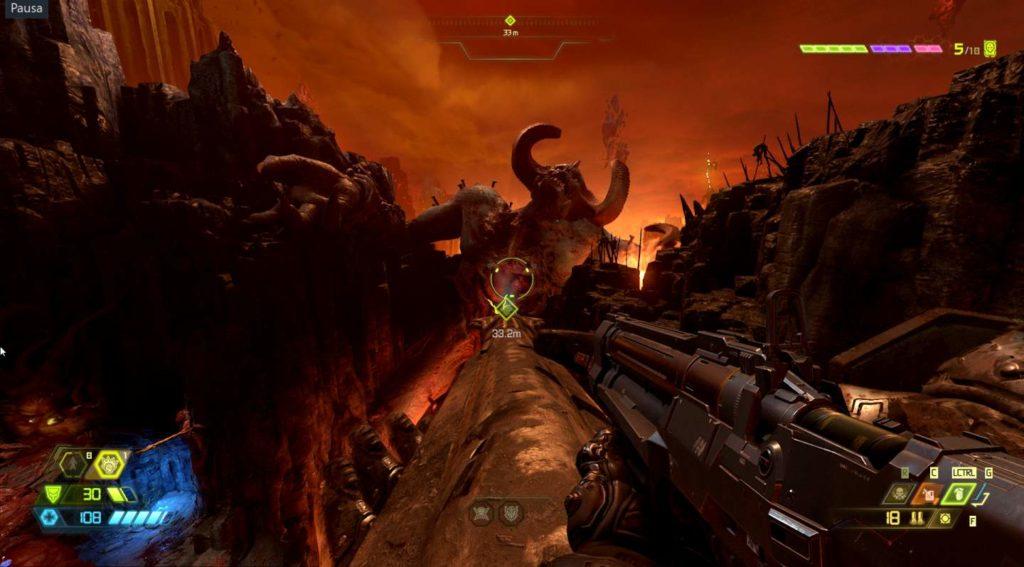 Doom Eternal inferno