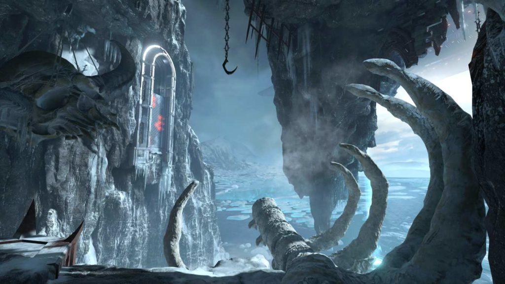 Doom Eternal ambientazione glaciale