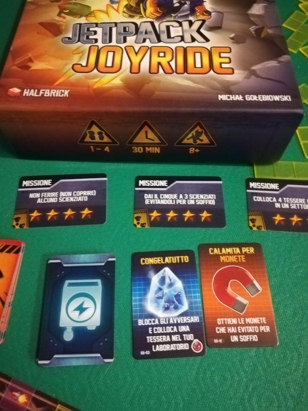 Le carte speciali di Jetpack Joyride