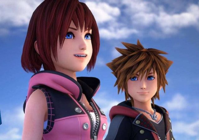 Kingdom Hearts 3, Sora, Kairi