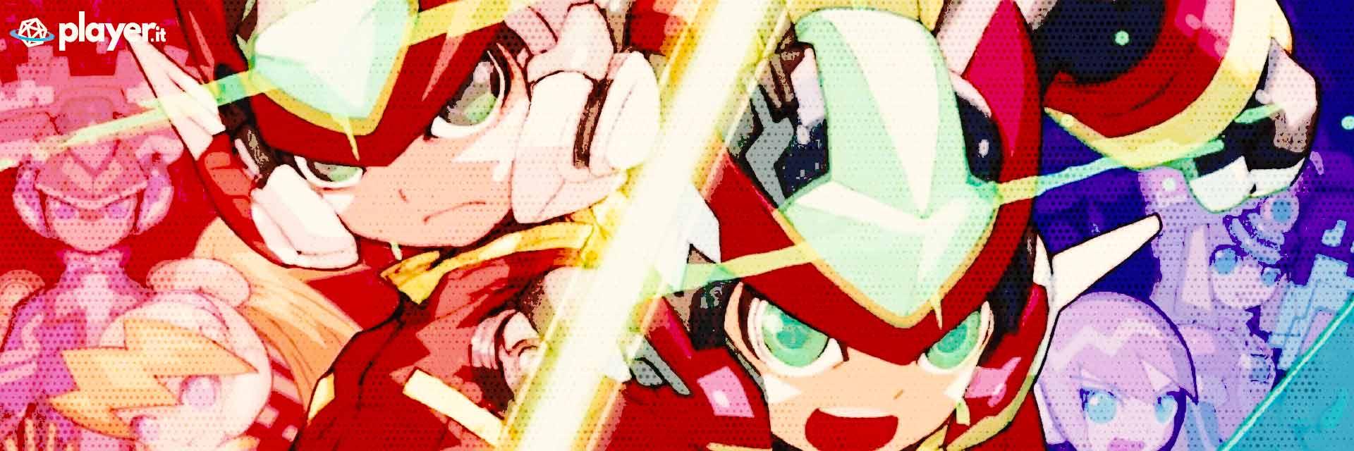 Mega Man Zero ZX Legacy Collection wallpaper del gioco
