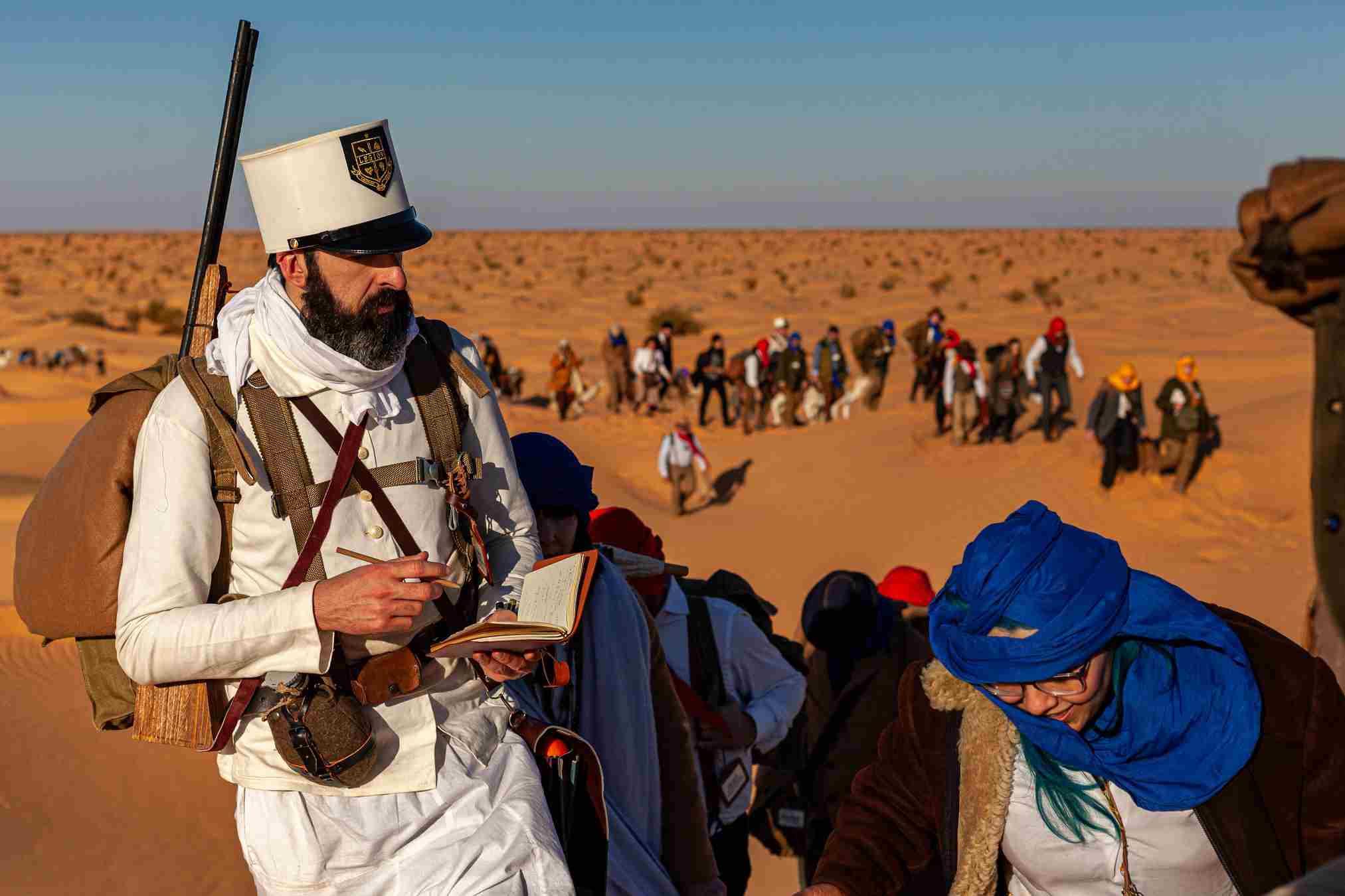 Sahara Expedition, Chaos League -Marcia