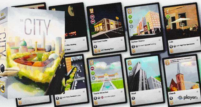 The City boardgame recensione