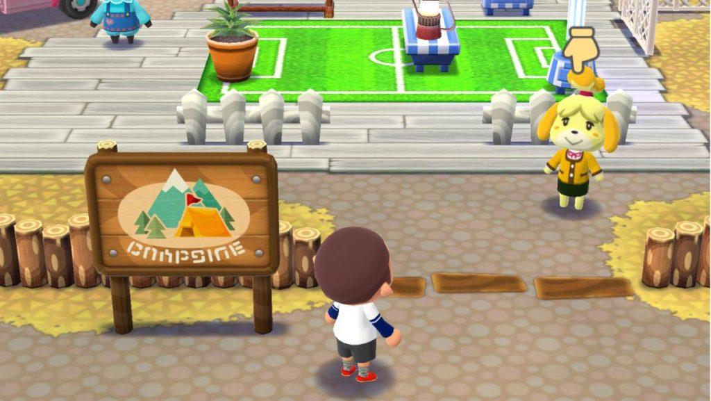 animal crossing pocket camp gameplay