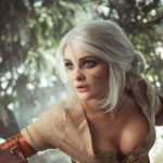 cosplay di Ciri di the witcher 3