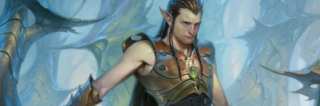 Ezuri, uno dei comandanti degli Elfi su Mirrodin