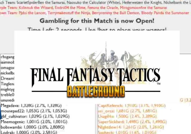 fft battleground