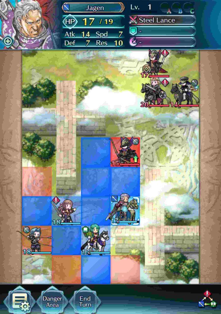 fire emblem heroes gameplay