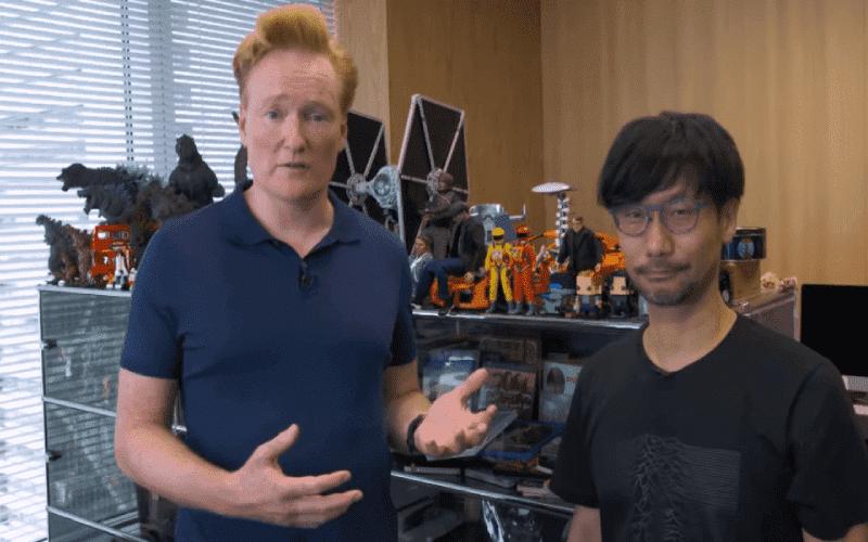 Hideo Kojima e Conan O'Brien