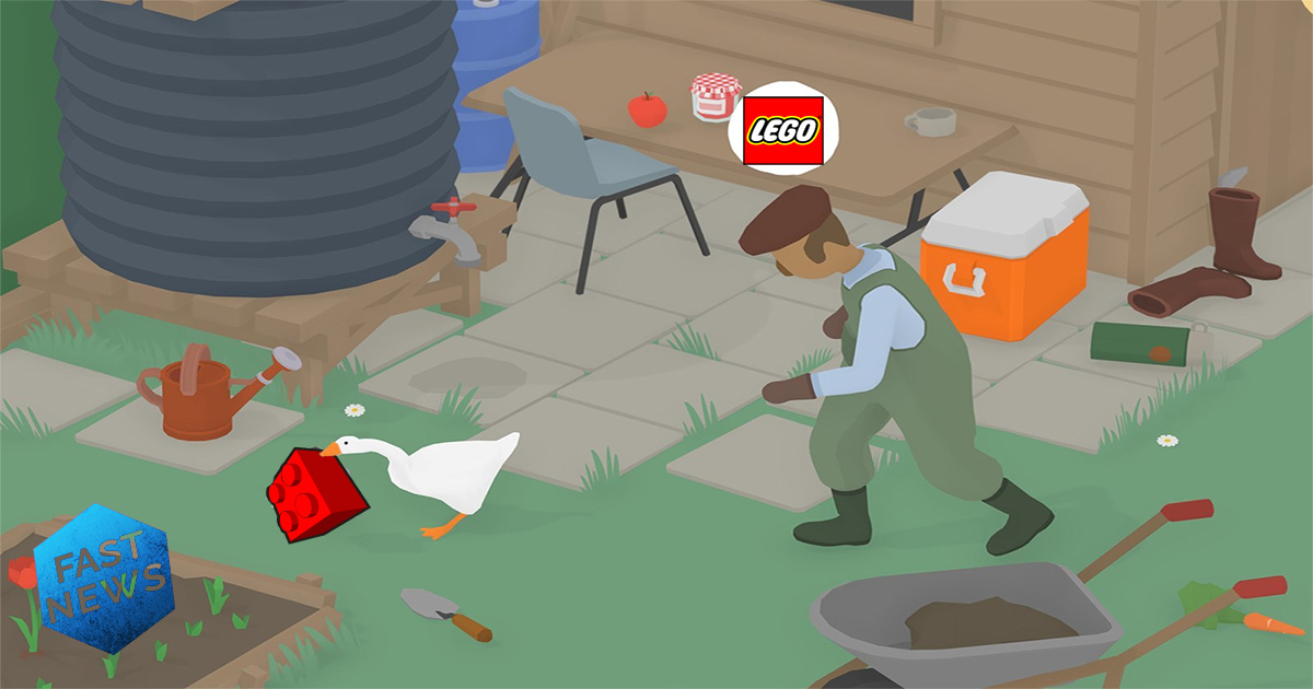 untitled goose game lego