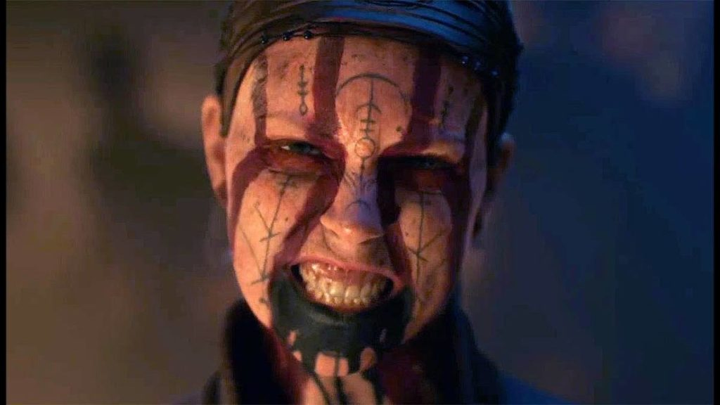 hellblade 2: senua's saga trailer screensho