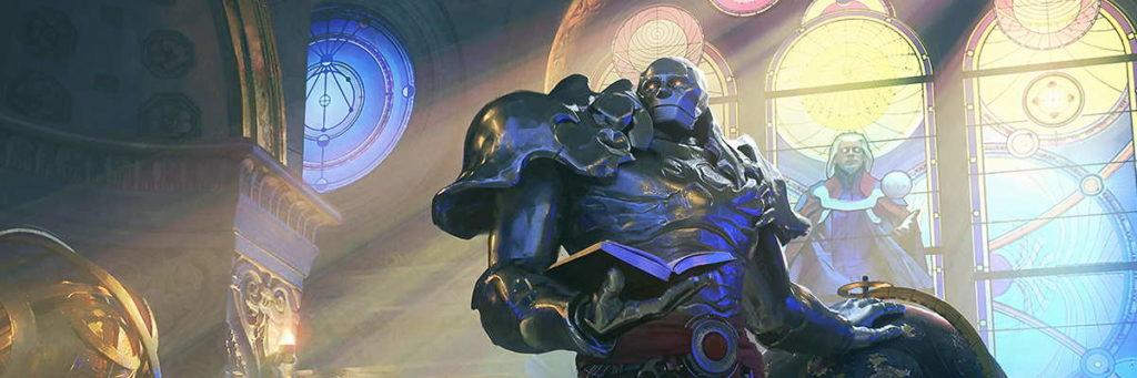 Karn, Scion of Urza, un potente planeswalker.