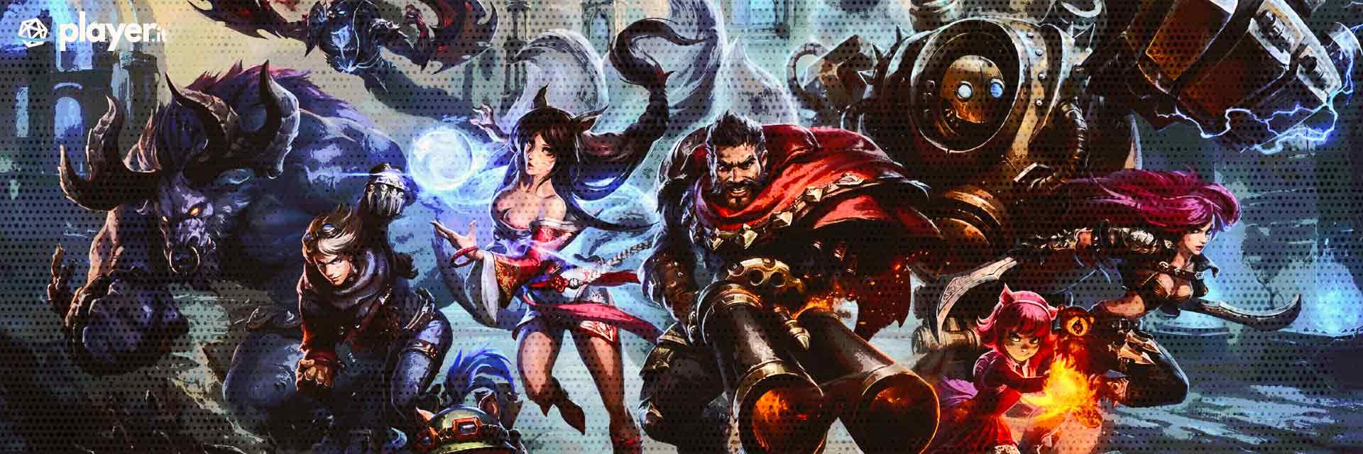 league of legends wallpaper in HD