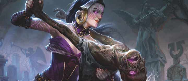 liliana macabre waltz wallpaper magic the gathering