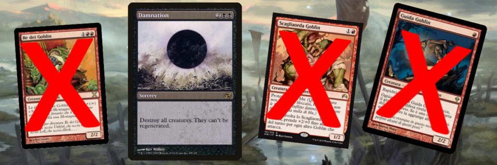 Un esempio di una rimozione di massa (board wipe) di Creature in Magic: the Gathering.