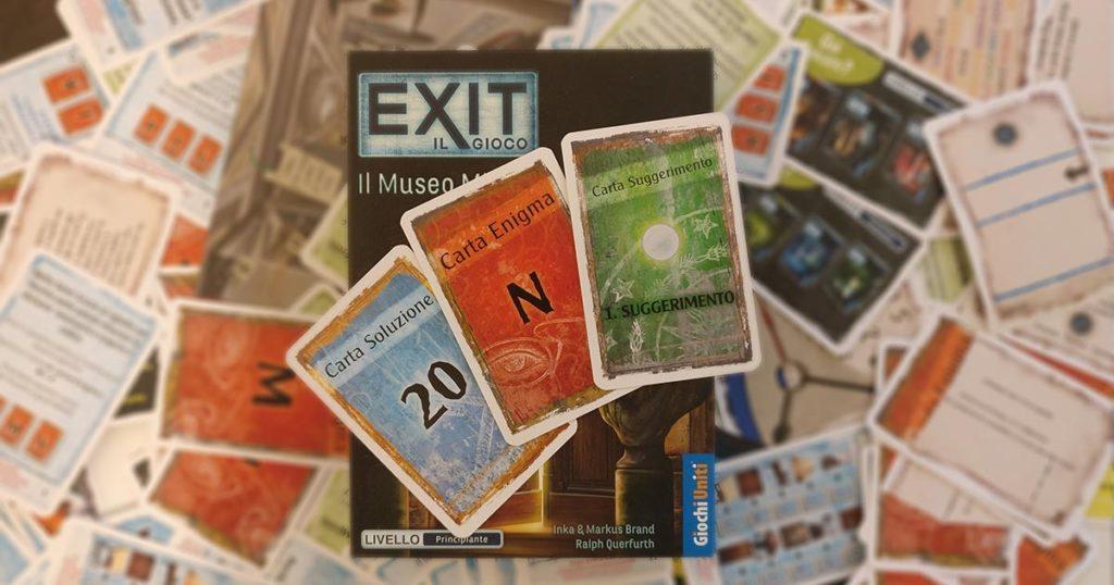 player exit il museo misterioso la villa inquietante carte