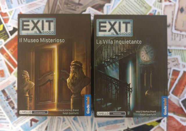 player exit il museo misterioso la villa inquietante copertina