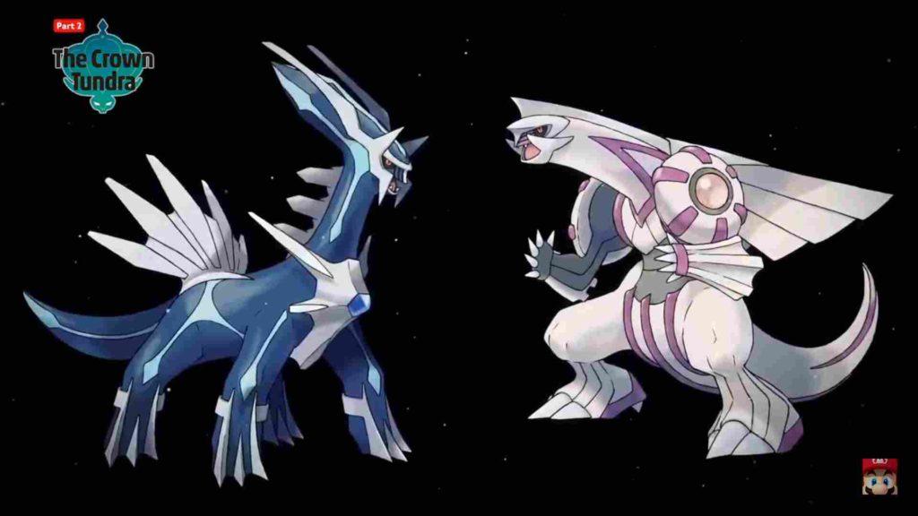 pokémon sword and shield dialga and palkia
