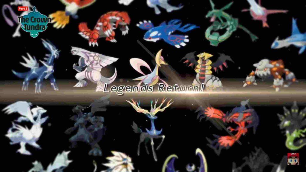 Pokémon leggendari spada e scudo