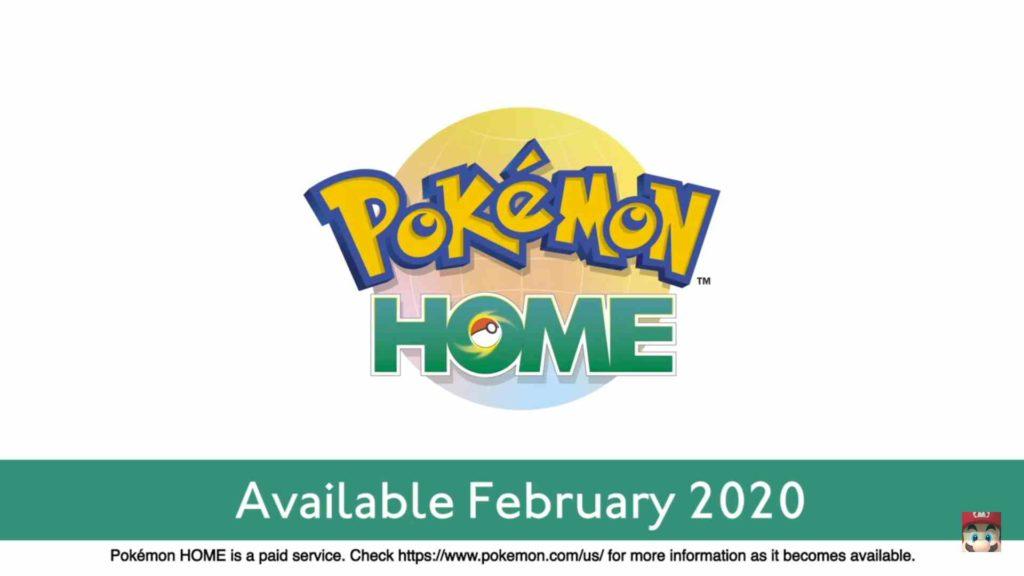 pokémon home release date