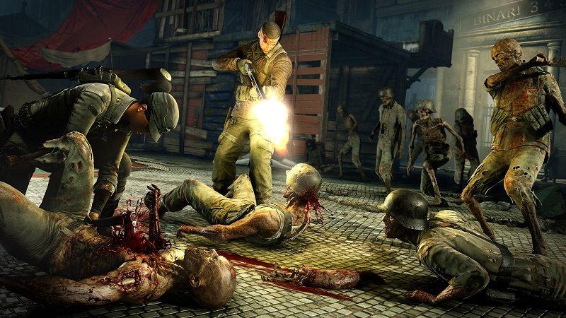 l'anteprima di zombie army 4 dead war di rebellion