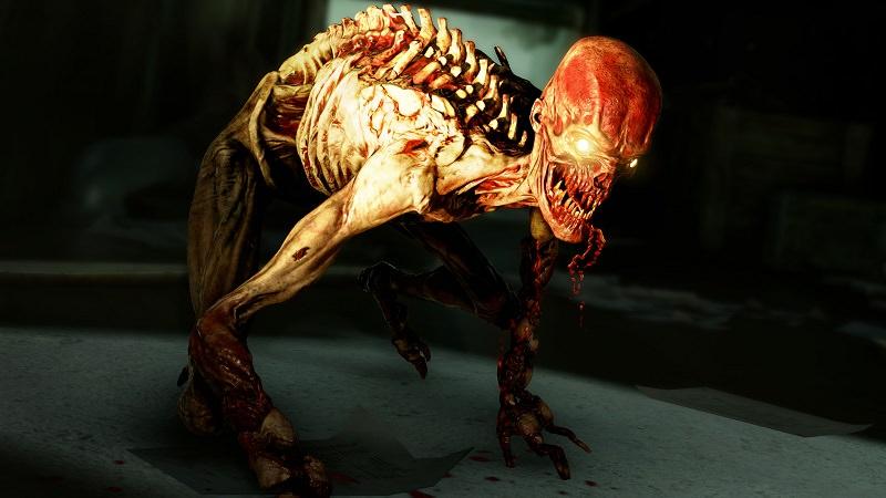 uno dei temibili nemici di zombie army 4 dead war