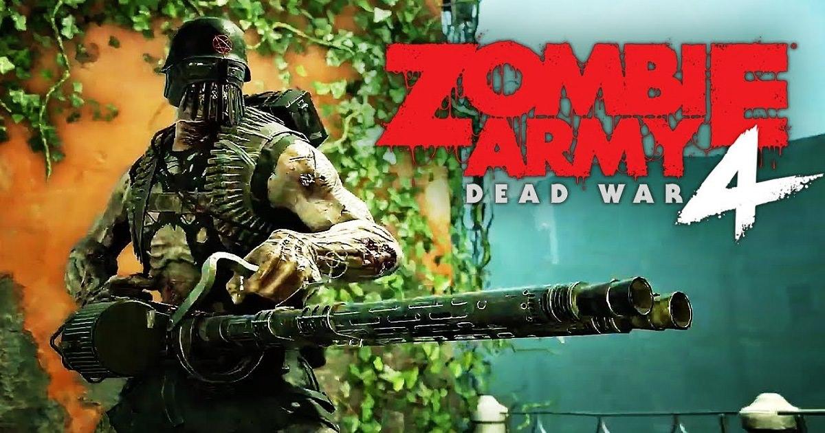 anteprima di zombie army 4 dead war