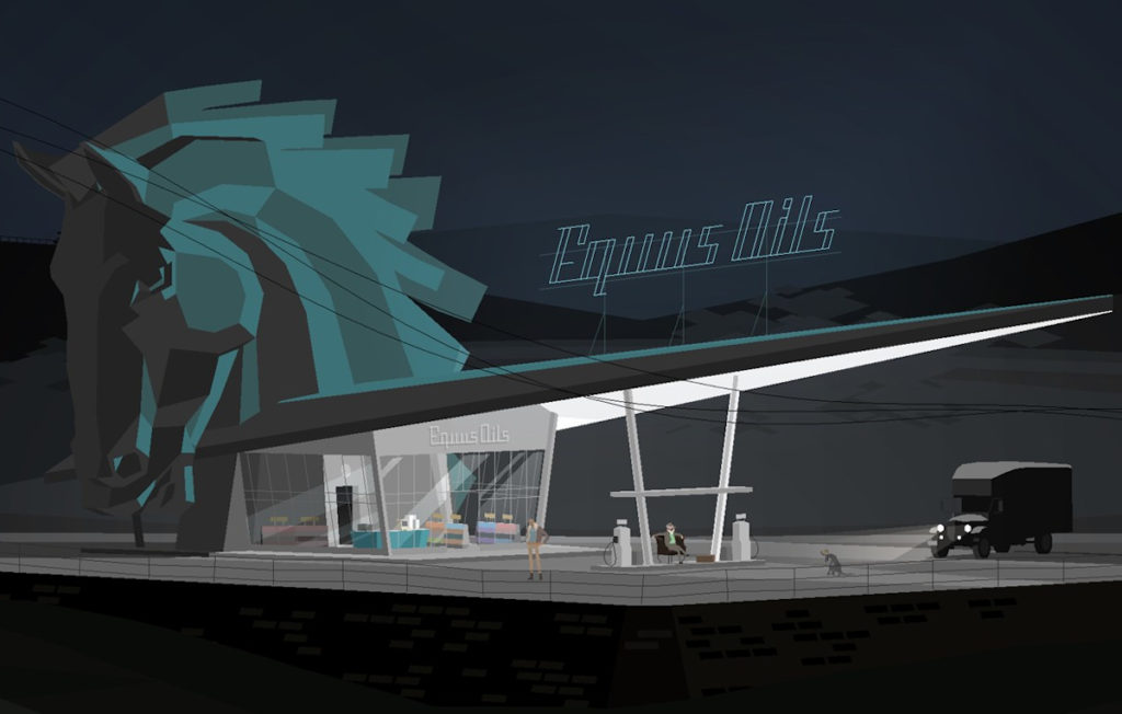 Kentucky Route Zero Equus Oils