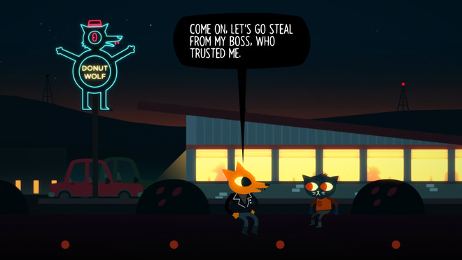 Night in the woods gioco