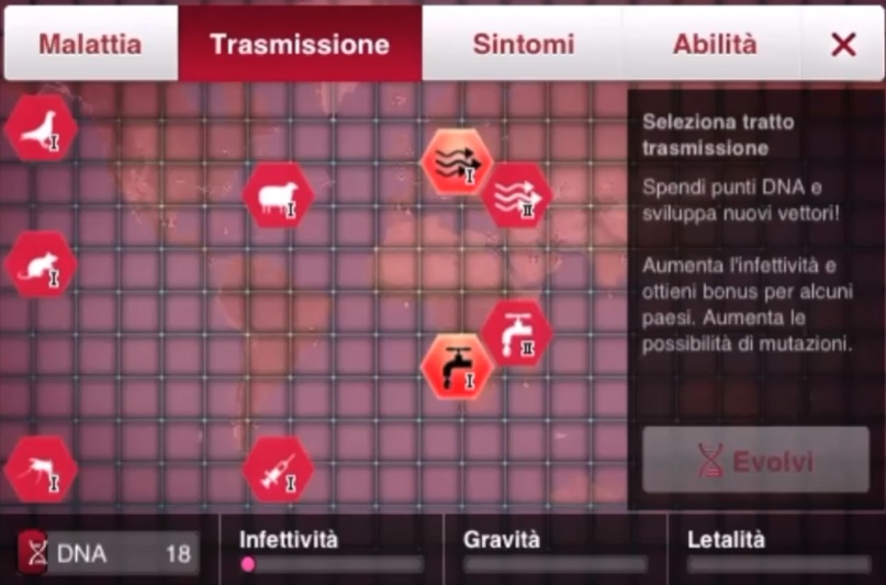 Plague inc vincere a brutale con Virus