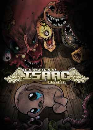 The Binding of Isaac: Rebirth copertina del gioco